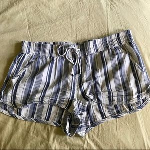 Pull-on Striped Shorts